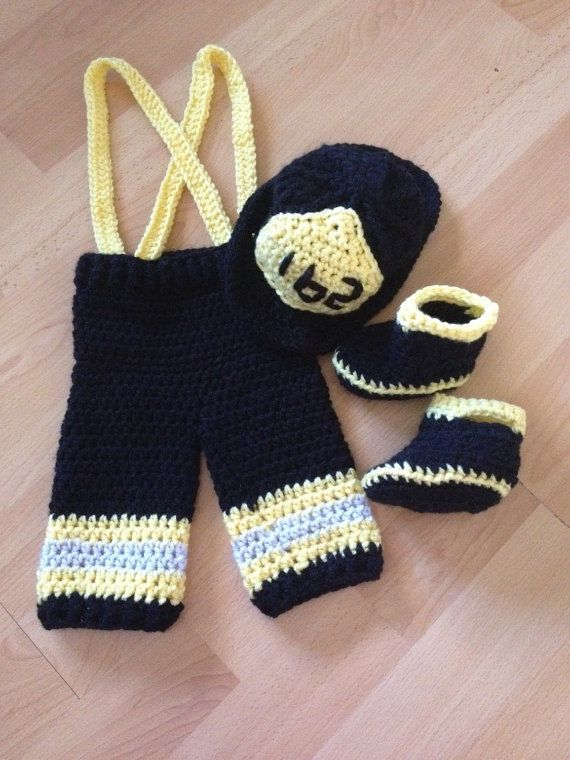 Baby firefighter outfit, Fireman, Crochet Fireman outfit, fireman baby shower, fireman hat, firefighter baby clothes, firefighter gift
