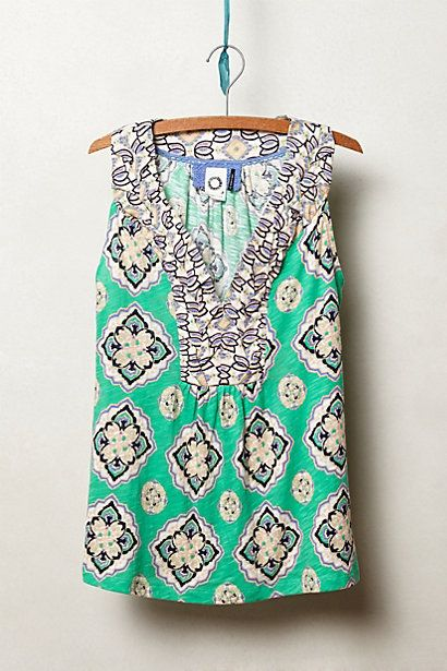 Anthropologie: Color Fashion, Dreams Closet, Clothing, Hauraki Tanks, Style Pinboard, Anthropologie Com, Cute Tanks, Personalized Stylists, Jeans And Boots