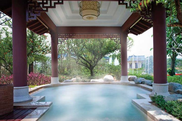 Our very own hot natural springs. A simply magical experience. #hotsprings #romance #indulge