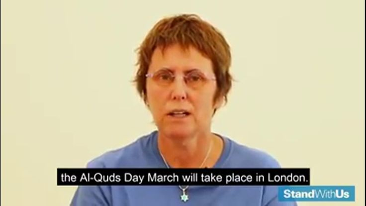 The Al Quds Day March is a revolting stain on London; Patriots please si...