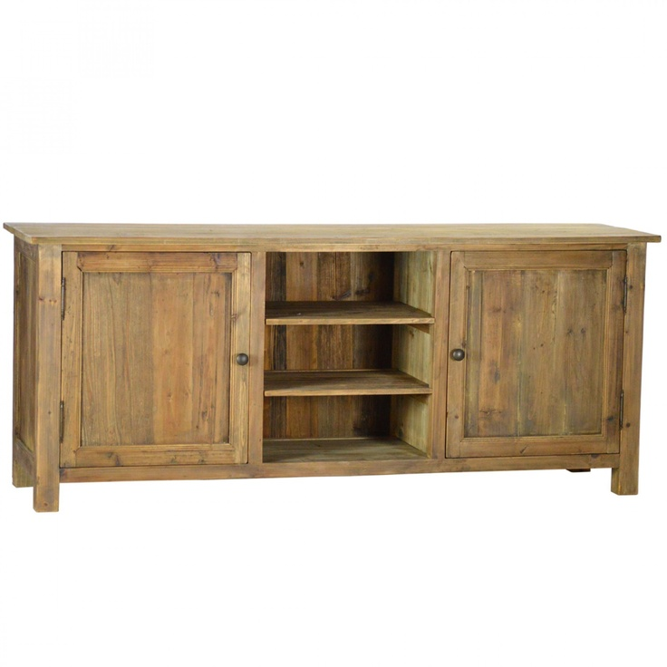 Elegant French Rustic Style Tiernan Plasma TV Stand $990.00 #thebellacottage #shabbychic