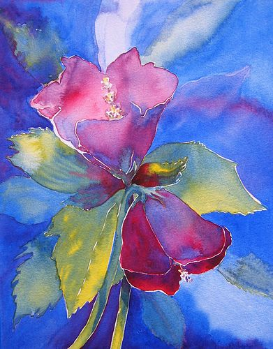"""Vibrant!  """"to everything there is a season"""" by RedHead Art, via Flickr"""