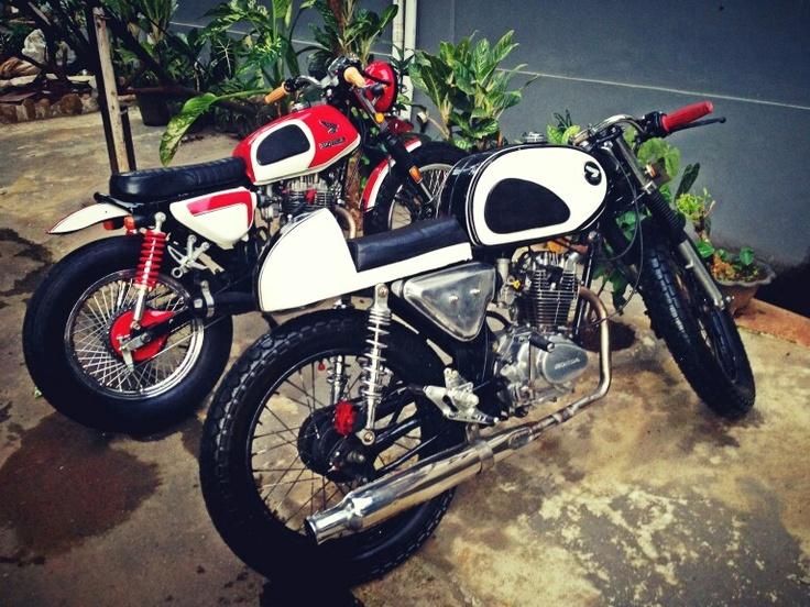 The Friend's Bike - Atributte for Honda CB100 & GL100 #Indonesiancustombike