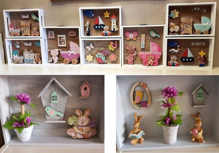 Zoek je een leuk cadeautje voor de babykamer? Of zoek je iets leuks voor de Pasen.....