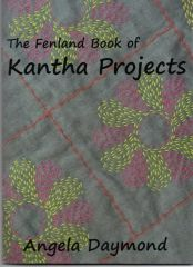 : The Fenland book of Kantha Projects from Angela Daymond -