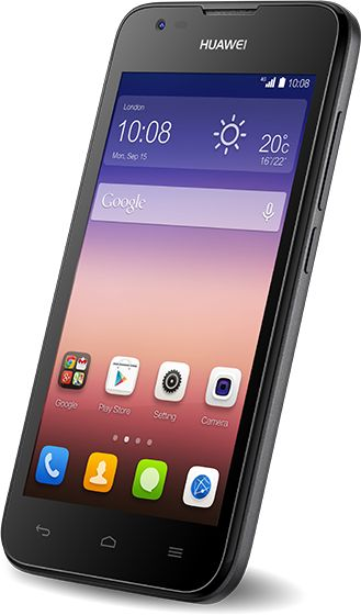 Huawei Ascend Y550 4G smartphone PAYG £44.99 at o2 FREE DELIVERY