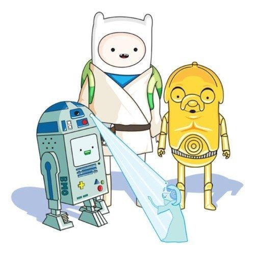 "Adventure Wars | 32 Mashups That Prove ""Adventure Time"" Makes Everything Way More Awesome"