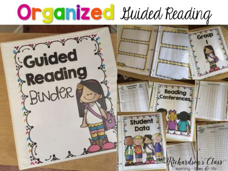 Everything you need to get your guided reading groups organized! This makes it so simple!!