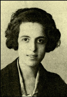"""Maria Polydouri (1902-1930) was a poet of the Neoromantic school. Her poetry revolves around the axes of love and death, while there are vivid elements of the unattainable and the decay. """"Apanta"""" is one of her best known collections."""