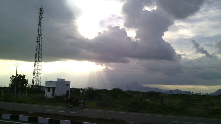 Way to Kanniyakumari from Naguneri