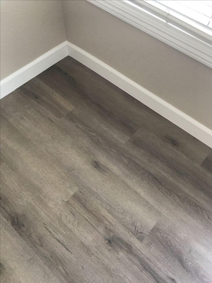 Nucore Windsong Flooring With Benjamin Moore Edgecomb Gray In 2019 Living Room Hardwood Floors