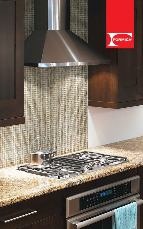 Crea una cocina elegante que vaya con tu personalidad. #Formica