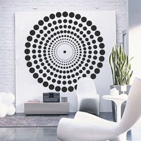 Contemporary Wall Decal by TrendyWallDesigns on Etsy