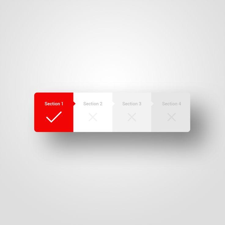 User interface design - Daily UI - 086 - Progress Bar
