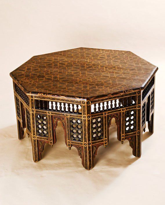 Moroccan Table, gorgeous detail