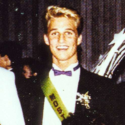 Young Matthew McConaughey as Prom King