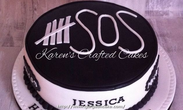 5Sos Birthday Cake Picture