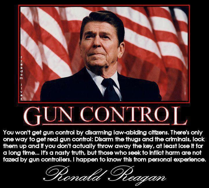 NO GUN CONTROL!