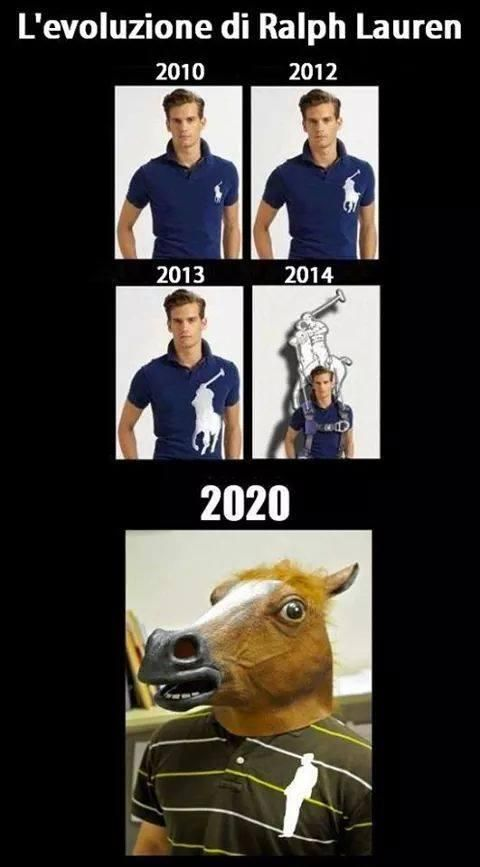 La Ralph Lauren nel 2020 sarà un cavallo con il simbolo umano