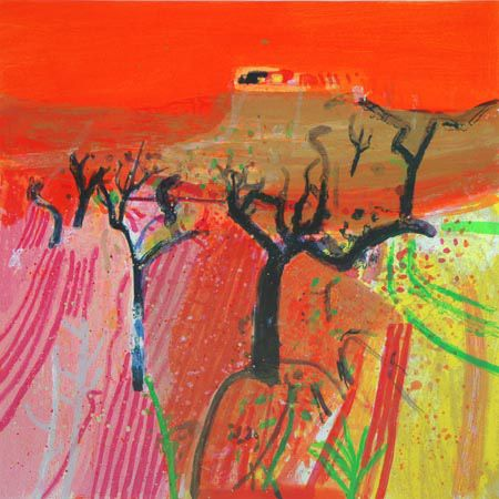 Barbara Rae Almond Trees