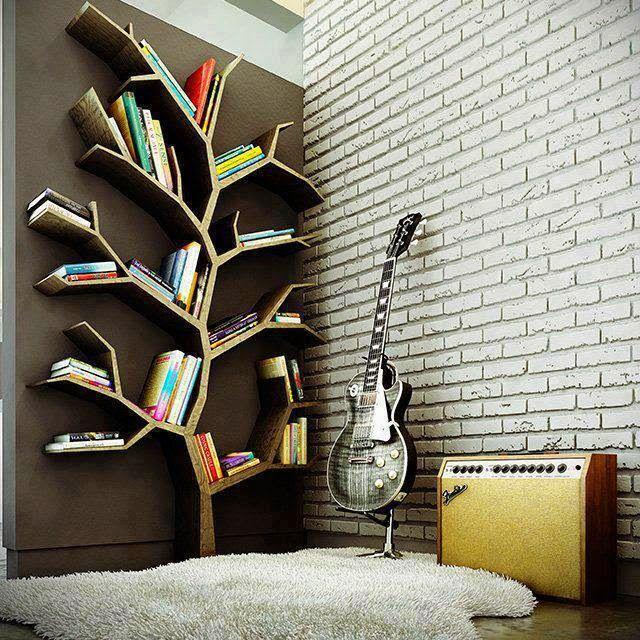 15 Easy and Wonderful DIY Bookshelves ideas 5
