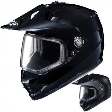 HJC DS-X1 Solid Mens Snowmobile Cruising DOT Winter Sports Helmets