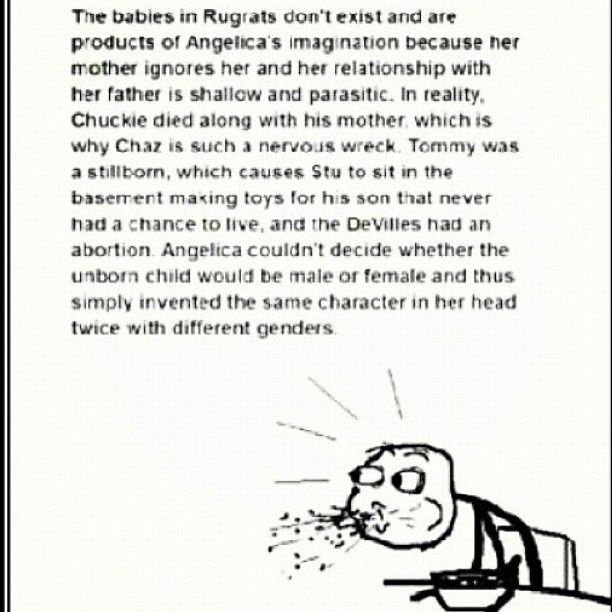 rugrats theory, mind blown