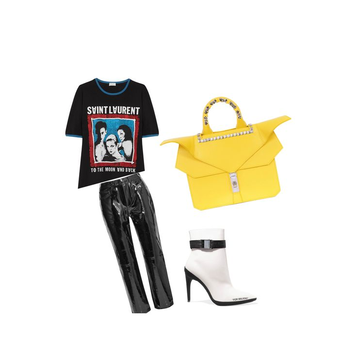 🆂🆃🆈🅻🅸🅽🅶 🅵🆁🅸🅳🅰🆈  #saintlaurent #tshirt | #ragandbone #leathertrousers | #offwhite #boots | #thechangingfactor #handbag  . . . #highend #architectural #luxuryhandbags #editorial #fashionphotography #fashioneditorial #fashionshoot #visualsgang #exploretocreate #thevisualscollective #createexplore #livelaughlove #instastyle #currentlywearing #asseenon #fbloggersuk