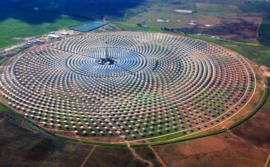 solar energy, renewable energy, Andalucia, Spain, Torresol, Masdar, green design