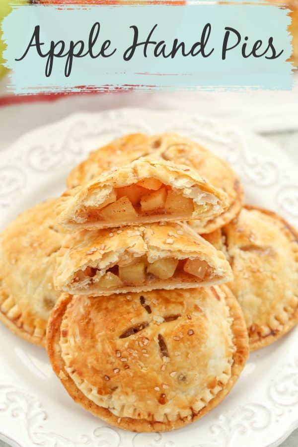 Flaky Buttery Crust Surrounding A Delicious Apple Filling