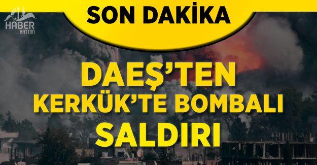 DAEŞ'ten Kerkük'e bombalı saldırı: 13 ölü!
