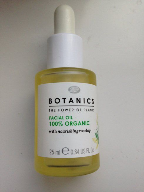 #Boots #Botanics #100% #Organic #Facial #Oil #review #price and details on the blog
