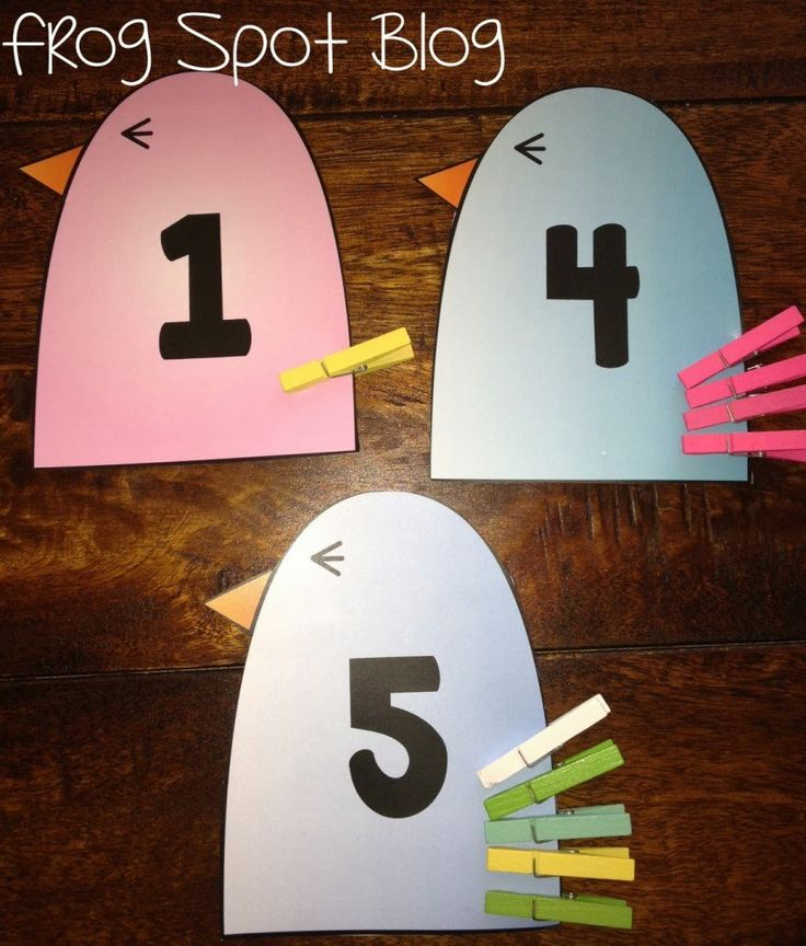 15 Clever Counting Cards - Playdough To Plato