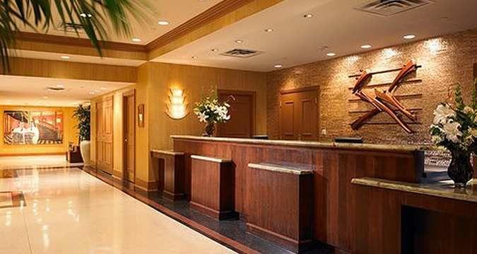 Hilton Baton Rouge Capitol Center Hotel, LA - Hilton Capitol Center Front Desk