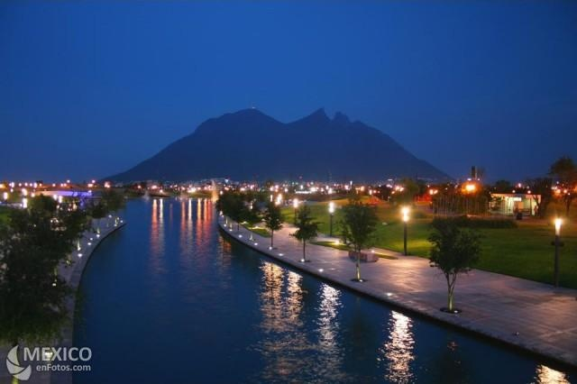Beautiful Monterrey, capital city of the state of Nuevo Leon, Mexico.