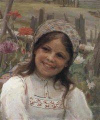 A Moldavian Girl by Fedot Vasilievich Sychkov