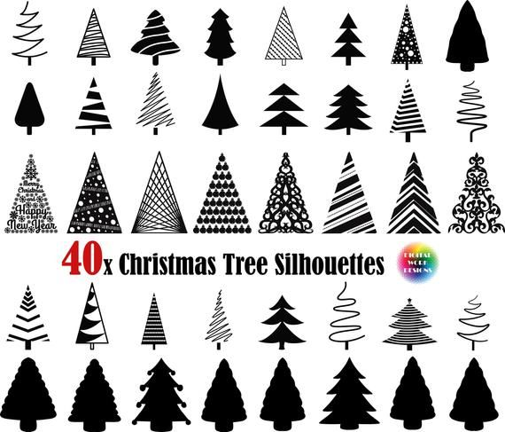 40x Christmas Tree Svg Christmas Tree Png Pine Tree Svg Christmas Svg Tree Svg Png Tre Christmas Tree Clipart Christmas Tree Silhouette Christmas Tree Template