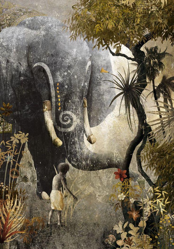 El libro de la selva de Rudyard Kipling, con ilustraciones de Gabriel Pacheco, Sexto Piso