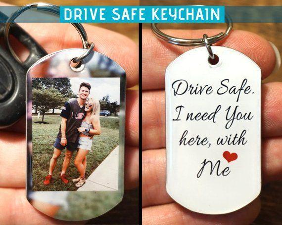 Photo Keychain – Anniversary Gift, FREE SHIPPING, anniversary gifts for boyfriend, personaliz…