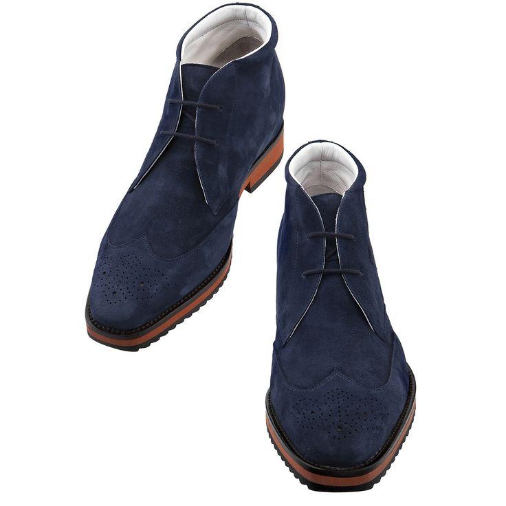 """""""Brooklyn"""", les chaussures réhaussantes GuidoMaggi en cuir faites main en Italie ! http://www.chaussuresrehaussantes.fr/ete-2014/brooklyn-detail"""