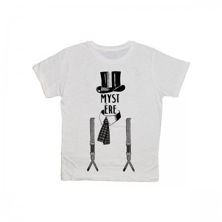 Mystere 100% slub cotton T-sirt for man.  Printed in Italy