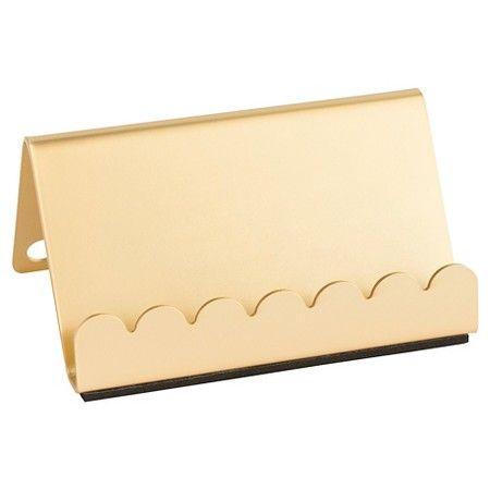 Sugar Paper 174 Business Card Holder Gold Target Gold