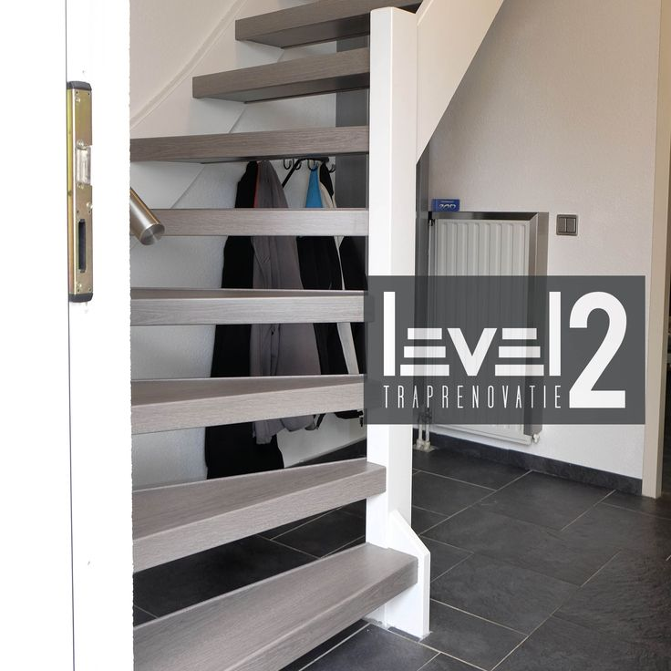 #level2 traprenovatie #open trap #trap bekleden #trap renoveren #traprenovatie