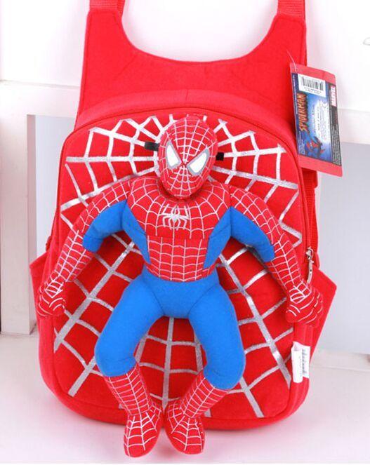 $12.00 (Buy here: https://alitems.com/g/1e8d114494ebda23ff8b16525dc3e8/?i=5&ulp=https%3A%2F%2Fwww.aliexpress.com%2Fitem%2F2015-new-children-cute-3D-spiderman-backpack-baby-schoolbag-for-boys-girls-cartoon-bags-Kids-plush%2F32542667956.html ) 2015 new children cute 3D spiderman backpack baby schoolbag for boys girls cartoon bags Kids plush mochila infantil backpacks for just $12.00