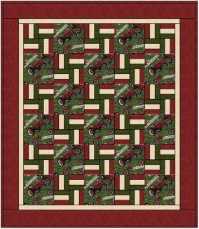tractor quilts | Tractor Quilt By Patti Linder