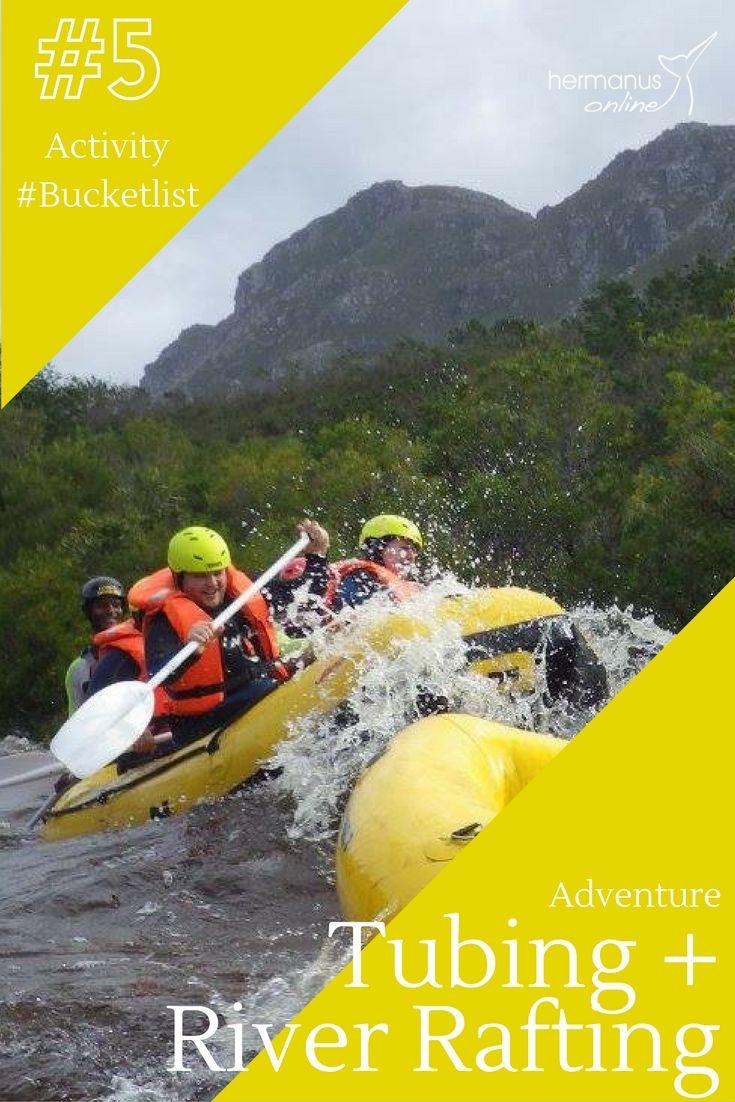 #5 / 10 - Hermanus Activity Bucketlist: Tubing and or Rafting