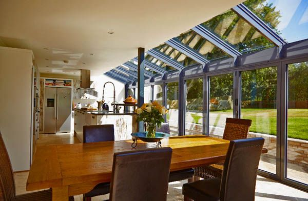 open plan kitchen and dining room extension ideas                              …