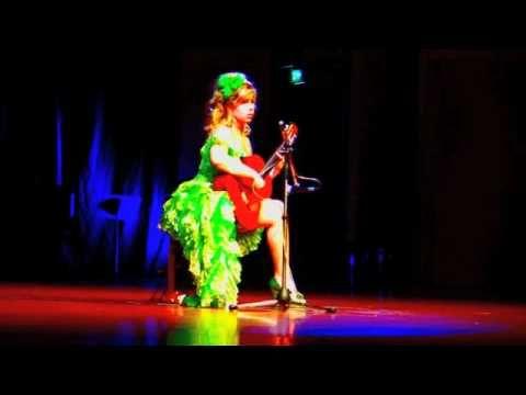 Flamboyant International Guitar Diva Galina Vale playing live Asia International Guitar Festival in Bangkok (Thailand)