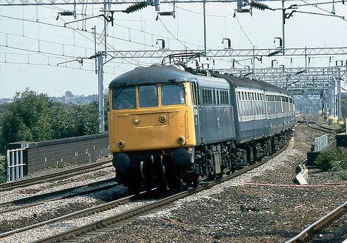 BR Class 85 85031, Tamworth Low Level