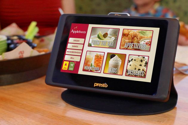 Most of Applebee's restaurants now have tablets that allow customers to view the menu and place their orders without needing to wait for the waiter to get their table. However, Applebee's stated that their staff level remained the same. Applebee's aimed to increase efficiency and reduce wait times with the incorporation of mobile ordering. Along with Applebee's, many other food restaurants are incorporating the use of mobile ordering.